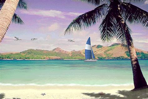 scenic beach scenes software