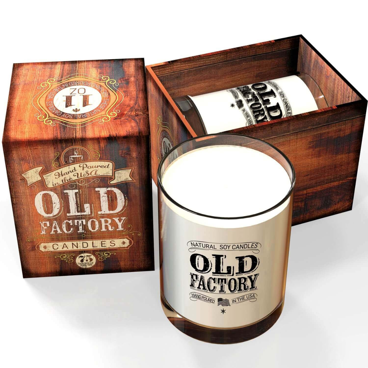 Leather - Old Factory Candles