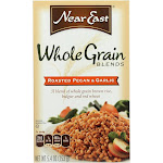 Near East Roasted Whole Grain - Pecan and Garlic - 5.4 Ounce - PACK OF 24