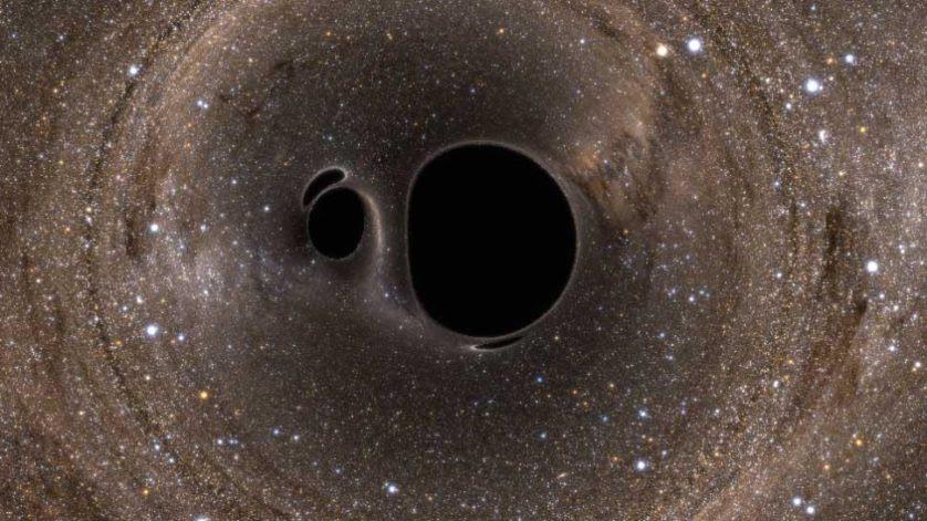 fusao buracos negros
