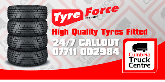 Tyreforce at Cumbria Truck Centre 😀