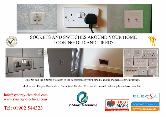Sockets and Switches around your home looking tired?