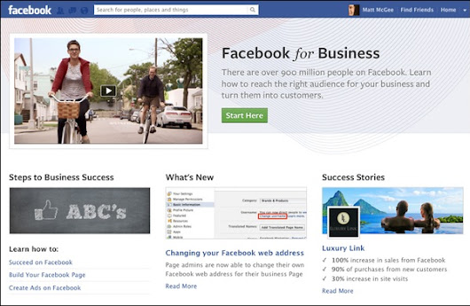 Shalin's Blog - 5 Reasons to Use Facebook Business Pages Over A Website