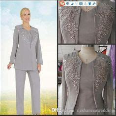piece evening pant suits mother   bride  size