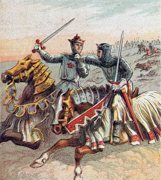 File:Pictures of English History Plate XXXI - After the Battle of Crecy.jpg