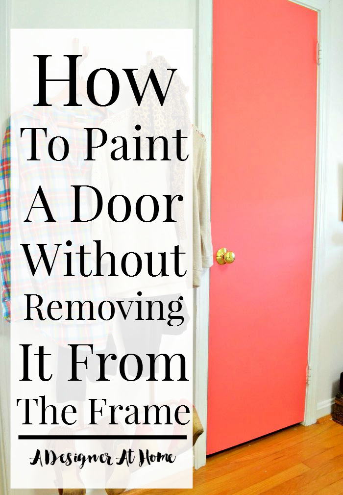 how-to-paint-a-door-without-removing-painters-tape-colorful-doors-remove-a-door-to-paint