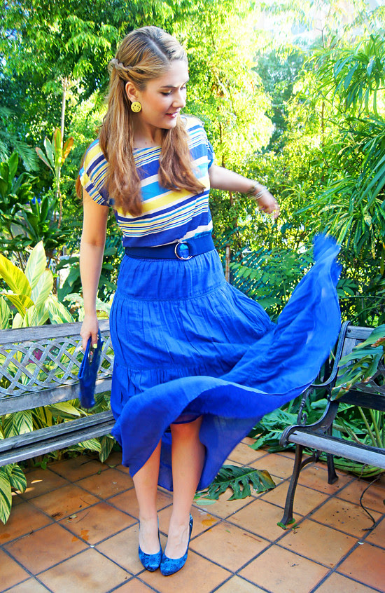 Blue & Yellow by The Joy of Fashion (1)