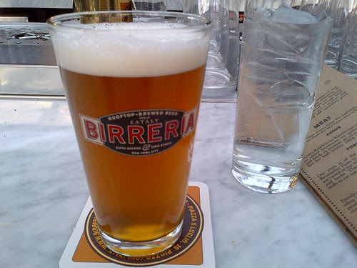 Gina Thyme Pale Ale at Eataly Birreria