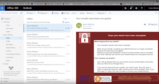 [Heads-up] Unusual Ransomware Strain Encrypts Cloud Email Real-time VIDEO