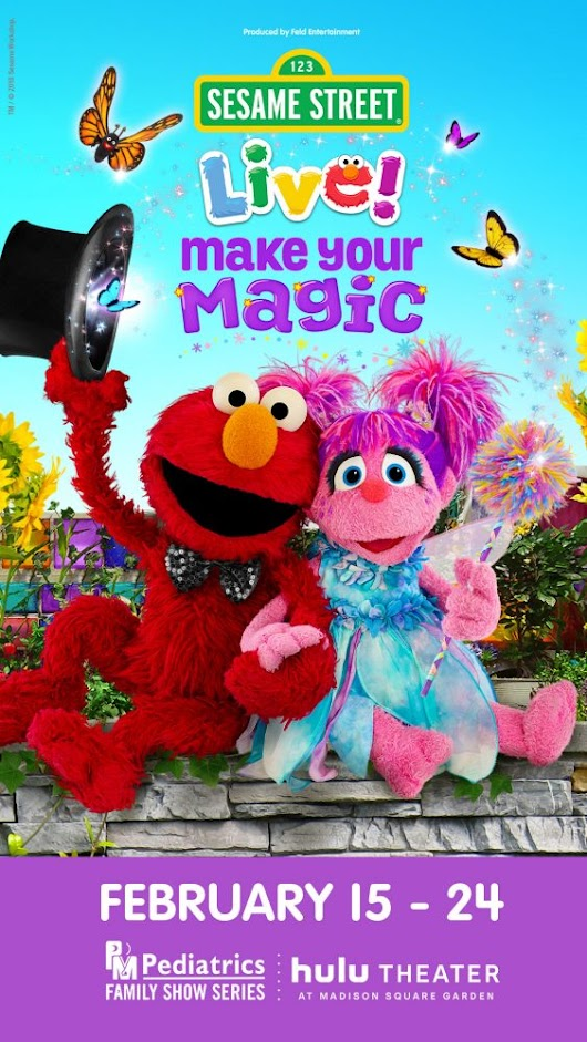 Sesame Street Live! Make Your Magic NYC Family Ticket #Giveaway