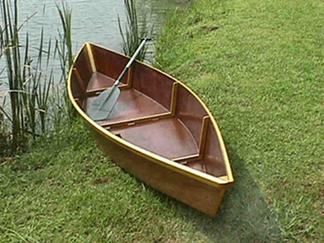 how to make a homemade wooden boats