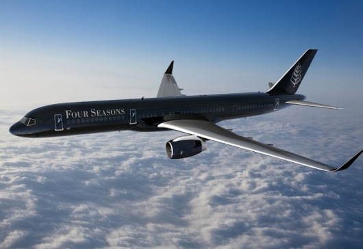 Four Seasons Branded Jet Unveiled «  GLOBAL 14
