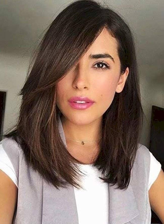 Cara Ovalada Cortes De Cabello Largo 2020 Mujer