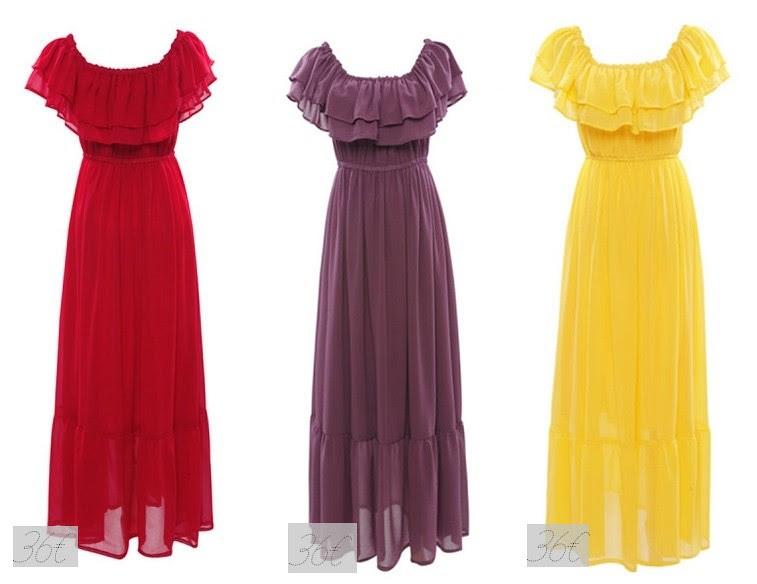 Bohemian Strapless Chiffon Maxi Dress - OASAP.com - Google Chrome 19.6-horz