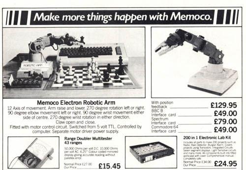 Publicidad de Memoco Electron - 2