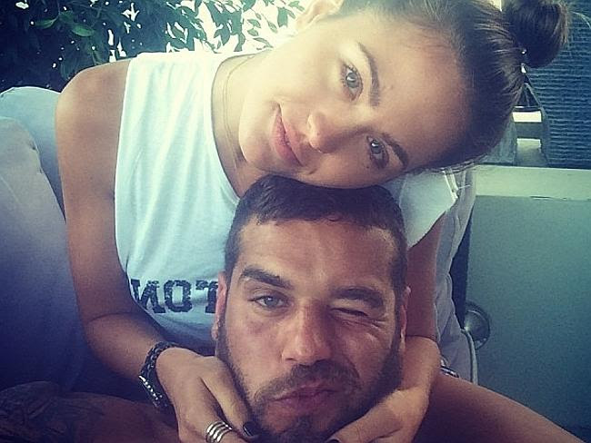 Gonna get married ... Jesinta Campbell revealed she was in a relationship with Lance 'Bud