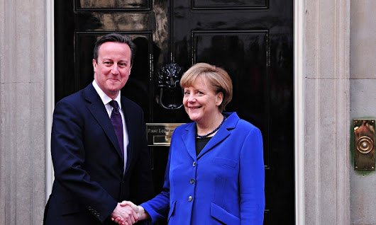 Angela Merkel shows Cameron how to play politics on the world stage | World news | The Guardian