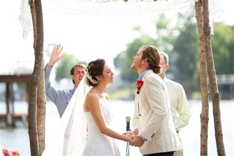 Southern wedding   outdoor ceremony ideas