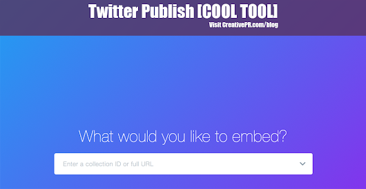 Twitter Publish - COOL TOOL