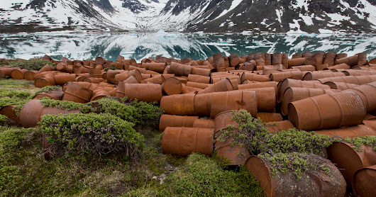 Documenting the Toxic Remains of an Abandoned WWII Base in Greenland