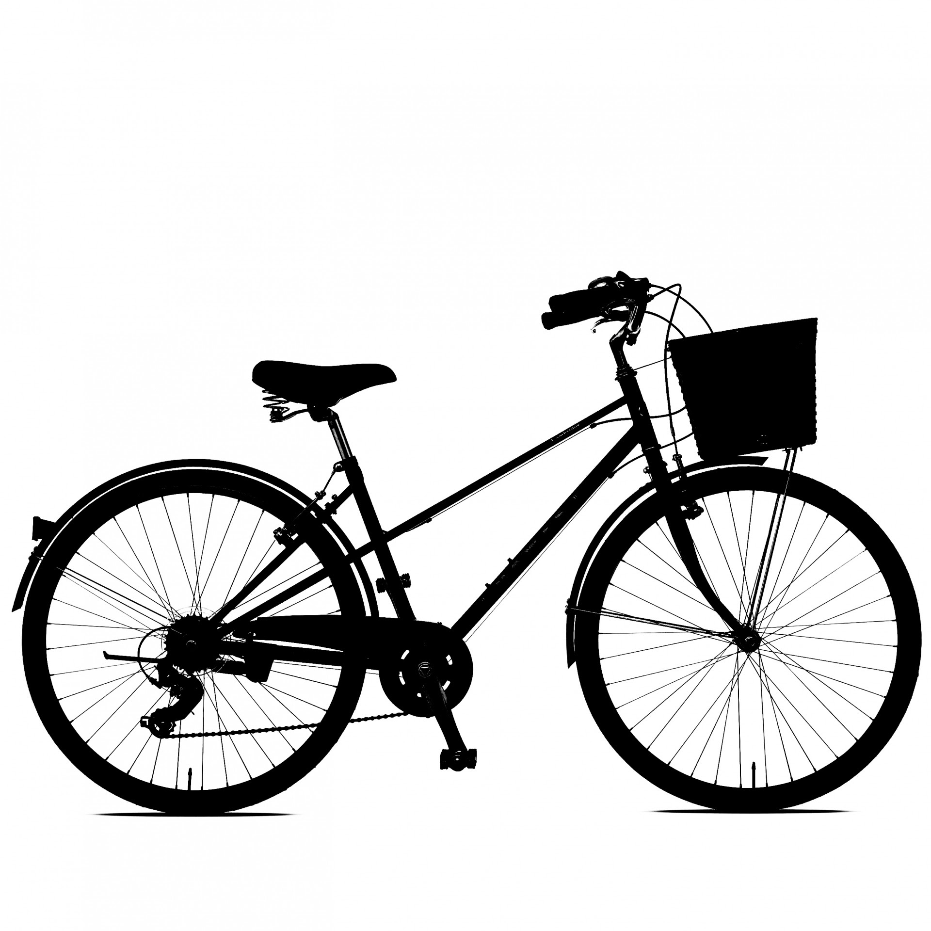 Bicycle Clipart Free Stock Photo - Public Domain Pictures