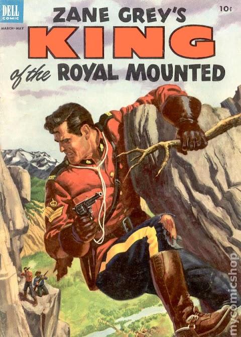 King Of The Royal Mounted Comic