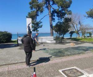 Ήγουμενίτσα: Εν μέσω κορονοϊού άρχισε η αποκατάσταση των μνημείων στο χώρο του Πάνθεον στην Ηγουμενίτσα