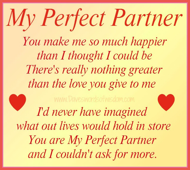 Quotes About Perfect Life Partner 22 Quotes