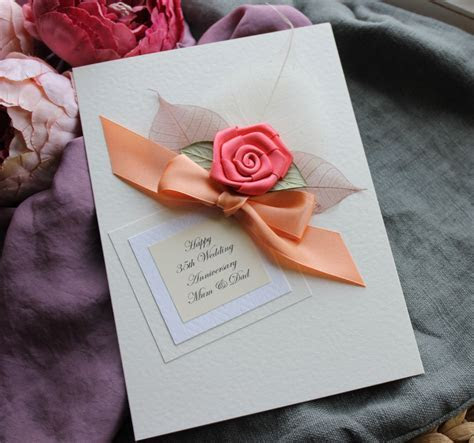 Pin by Betty Dath on Cardmaking   Anniversary   35th