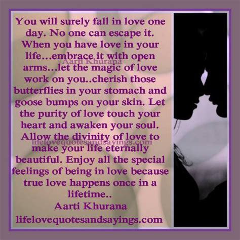 Once In Lifetime Love Quotes