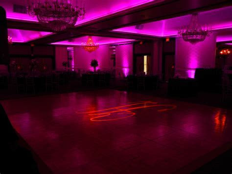 Wedding Reception Lighting   Ambient Up lighting   Orange