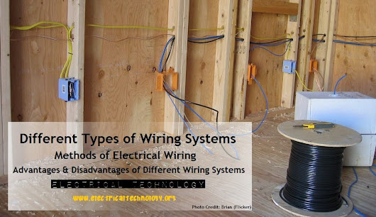 Different Types of Wiring Systems and Methods of Electrical Wiring