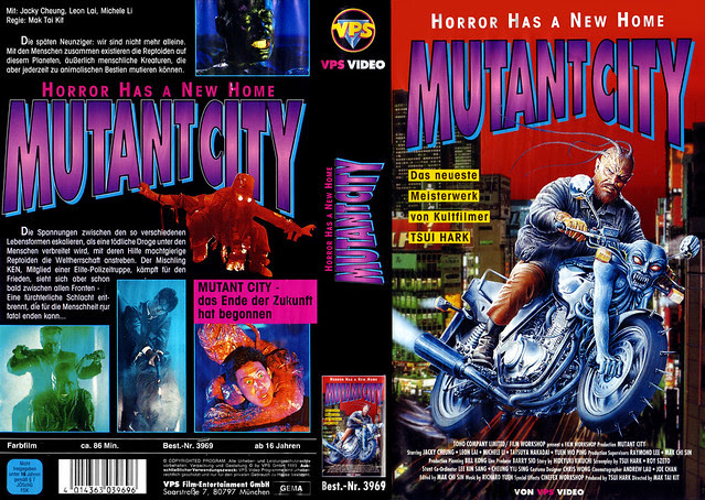 Mutant City (VHS Box Art)
