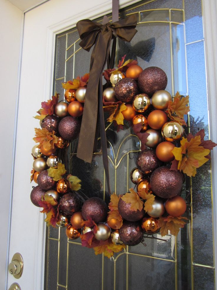 Fall Decorating Ideas: Harvest Wreath