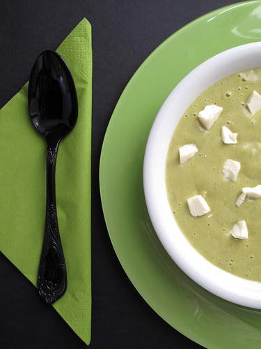 Crema di broccoli con il formaggino