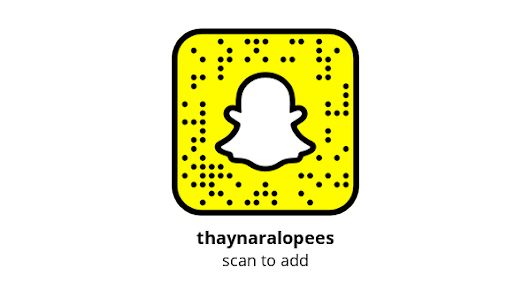 Add me on Snapchat! Username: thaynaralopees