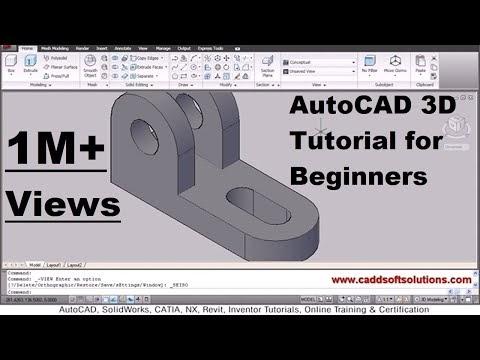 💣 Autocad 3d modeling tutorial video download | AutoCAD 3D: Your