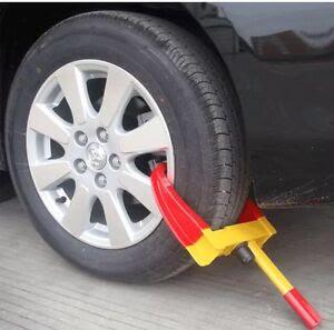Wheel Clamp Lock For Cars Trailer Caravan Security Anti
