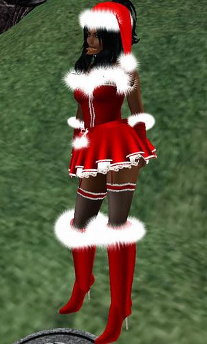 Red or Dead hunt SLC Santa Girl 2009