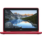 """Dell Inspiron 11 3000 2-in-1 11.6"""" Touch Notebook - AMD A9-9420e - 4 GB RAM - 500 GB HDD - Red"""