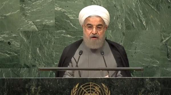 El presidente iraní, Hasan Rohani, en la ONU
