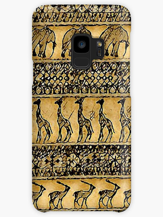 """Jungle Exodus"" Cases & Skins for Samsung Galaxy by MijizaCreations 