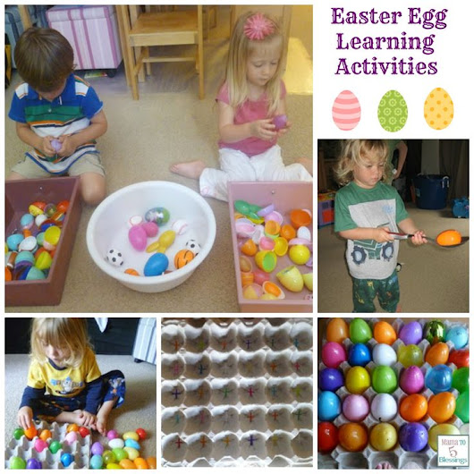 Fun Easter Egg Learning Activities For Kids … | Pinteres…
