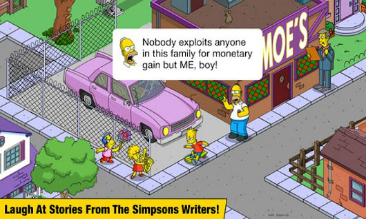 App do Dia – The Simpsons: Tapped Out