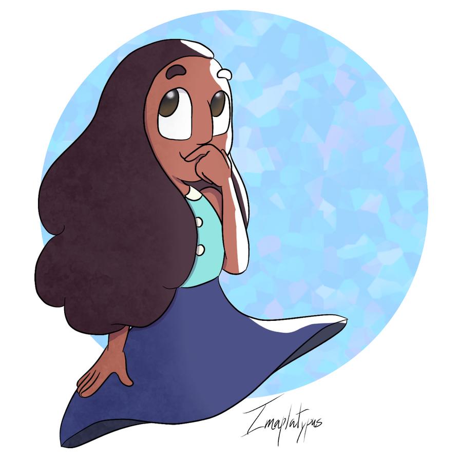 Made on ibispaint x. Connie belongs to Cartoon Network