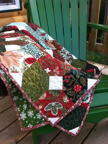 Coming Home to the Woods of Switzerland for Christmas Quilt