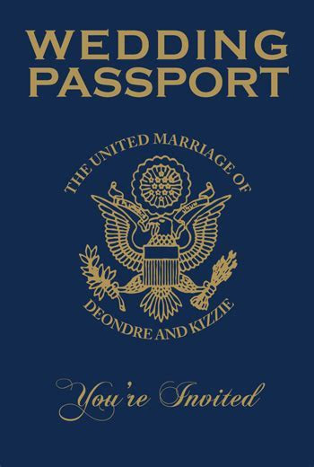 Which Passport Wedding Invitations should you order