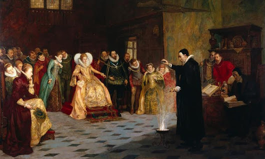 John Dee painting originally had circle of human skulls, x-ray imaging reveals