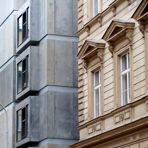 edifício de apartamentos com ginásio de esportes, lodecka 1, praga, 05