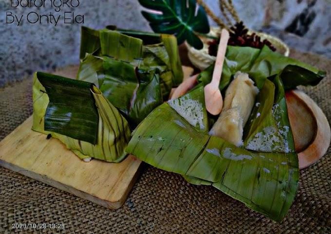Resep Barongko By Onty Ela Bikin Nagih